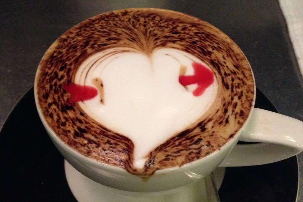 Café enamorado
